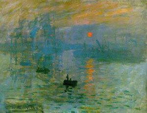 """Claude Monet's """"Impression, Sunrise"""""""